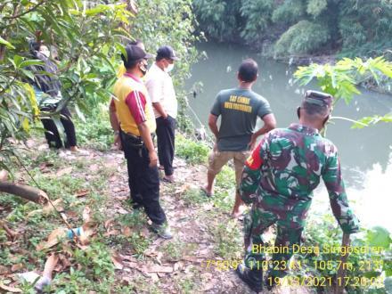 Survei Bantaran Kali Gajah Wong Perbatasan Tamanan Singosaren Jagalan.